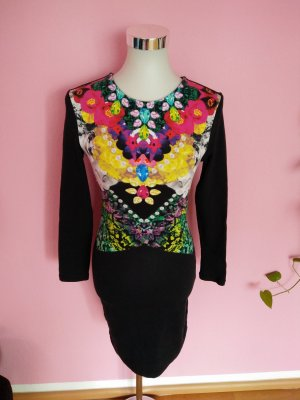 H&M Vestido estilo camisa multicolor Algodón