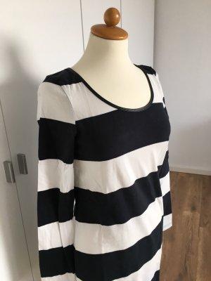AJC Longsleeve Dress black-white