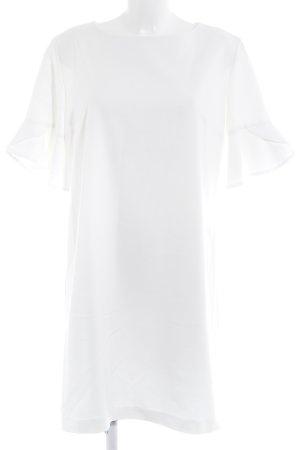 Robe t-shirt blanc élégant