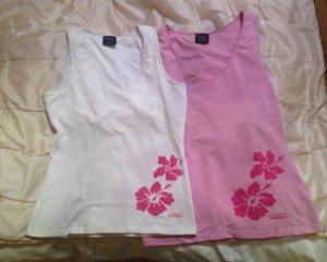 Shirts von Venice Beach in pink und weiß Größe XS