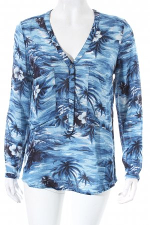 Shirttunika florales Muster Beach-Look
