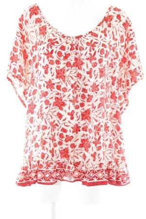 Shirt Tunic mixed pattern romantic style