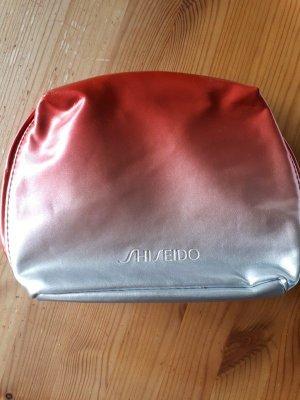 Mini Bag brick red-silver-colored