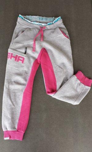 Shisha Harem Pants light grey-pink