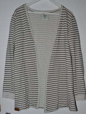 Shisha - langer Cardigan - gestreift