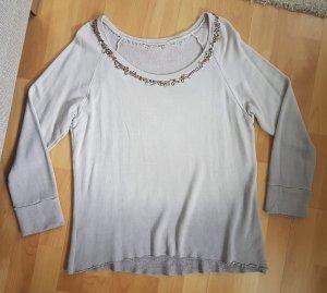 Shiva Diva Designer Sweatshirt Hand bestickt mauve XL