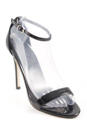 shoe Box High Heel Sandaletten schwarz Elegant