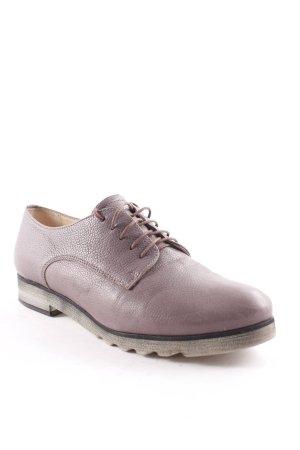 shoe embassy Schnürschuhe hellbraun klassischer Stil