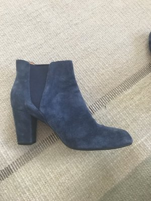 Shoe the Bear Ankle Boots blue leather