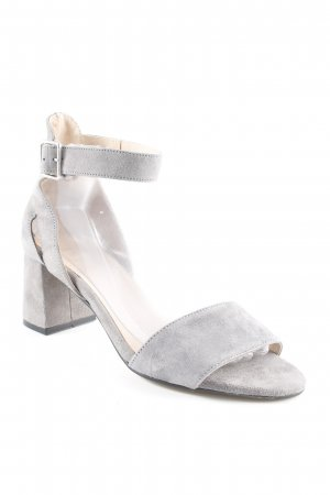 Shoe the Bear Strapped pumps grey business style