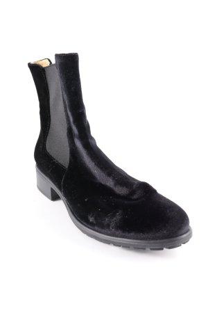Shoe the Bear Schlüpf-Stiefeletten schwarz Casual-Look