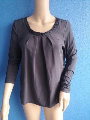 s.Oliver Batik shirt antraciet Viscose