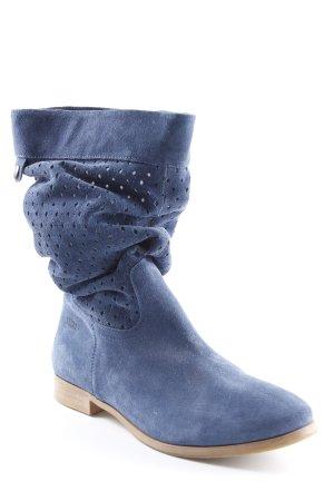 Shoot Slouch Stiefel blau-stahlblau Casual-Look