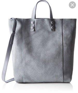 Marc O'Polo Shopper silver-colored leather