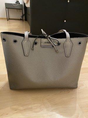 Guess Shopper silver-colored-black