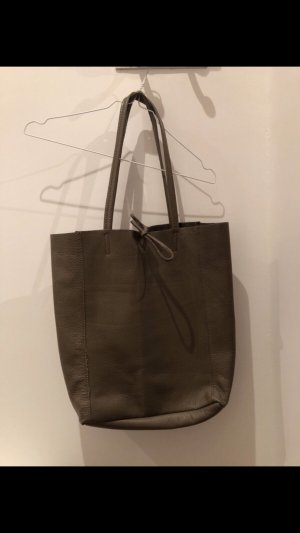 Shopper grey brown-taupe