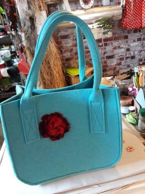 Bid Handmade Borsa con manico multicolore
