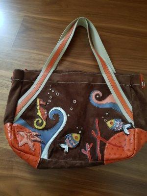 Shopper Bade Strandtasche Original Prada bunt guter gebrauchter Zustand