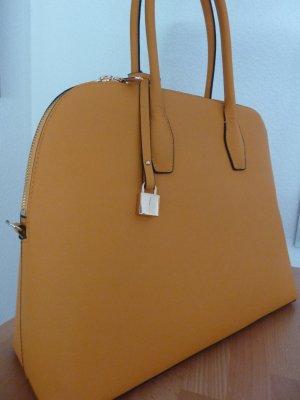 H&M Borsa shopper arancione chiaro Finta pelle