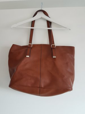 Shopper cognac braun