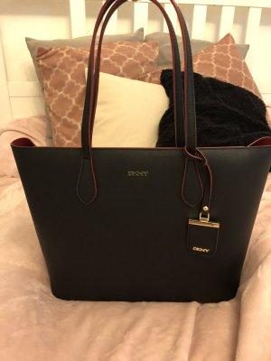 DKNY Borsa shopper nero-rosso