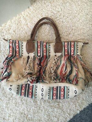 Sfera Fringed Bag multicolored