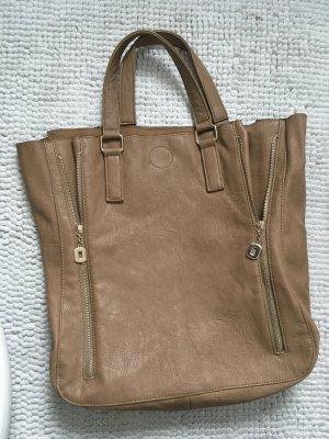 Shopper Hallhuber beige Tasche