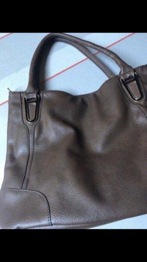 Shopper - Handtasche- Damen - groß - braun- Neu