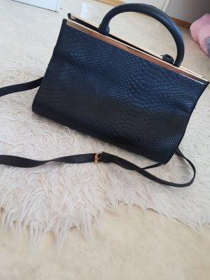 shopper handtasche mit schlangenmusterprint