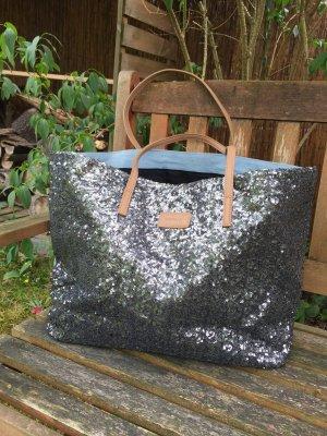 Shopper Handtasche von Codello mit Pailletten