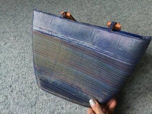Borsa telaio multicolore