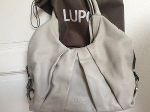 Shopper KalbLeder von Lupo Barcelona helles grau