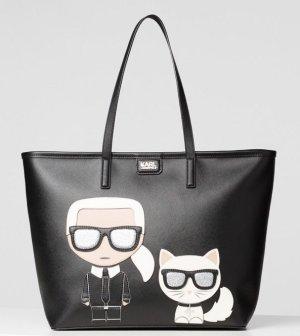 Shopper Karl Lagergeld & Choupette