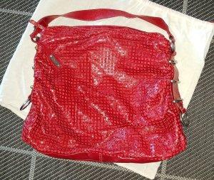 Shopper Leder von abro rot