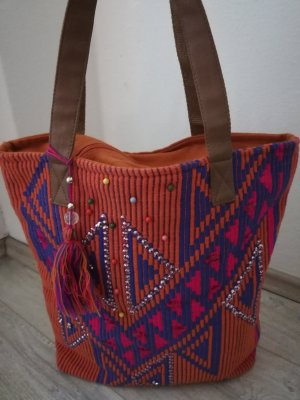 Shopper multicolore