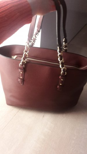 Shopper mit Golddetails