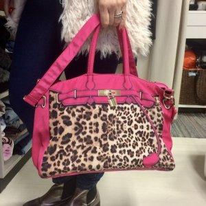 Shopper mit Leomuster #leomuster #tasche