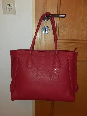 Shopper Penelope von Longchamp in ziegelrot