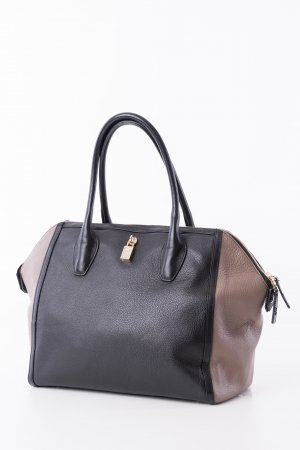 Furla Shopper black-brown leather