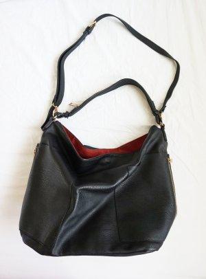 Shopper schwarz mit Innentasche