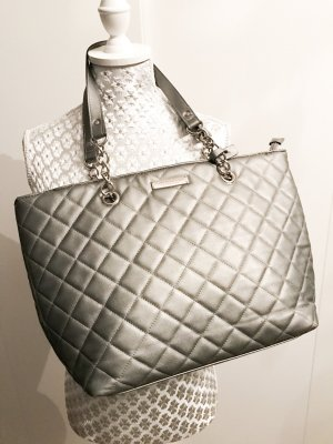 Shopper silberne Tasche