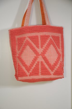 Shopper neon orange mixture fibre