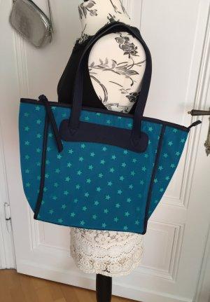 Shopper Tasche City Bag mit Sternen von Fossil