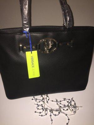 Versace Jeans Borsa shopper nero-oro