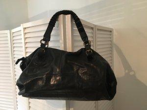 Shopper von Airstep in schwarz, Leder