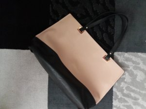 Shopper black-pink