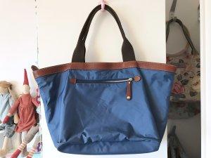 Marc O'Polo Shopper brown-blue
