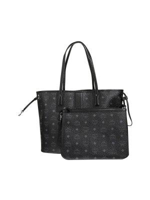 MCM Shopper zwart-antraciet