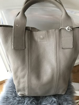 Oakwood Shopper gris cuir