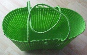 Borsa shopper verde chiaro-verde Sintetico
